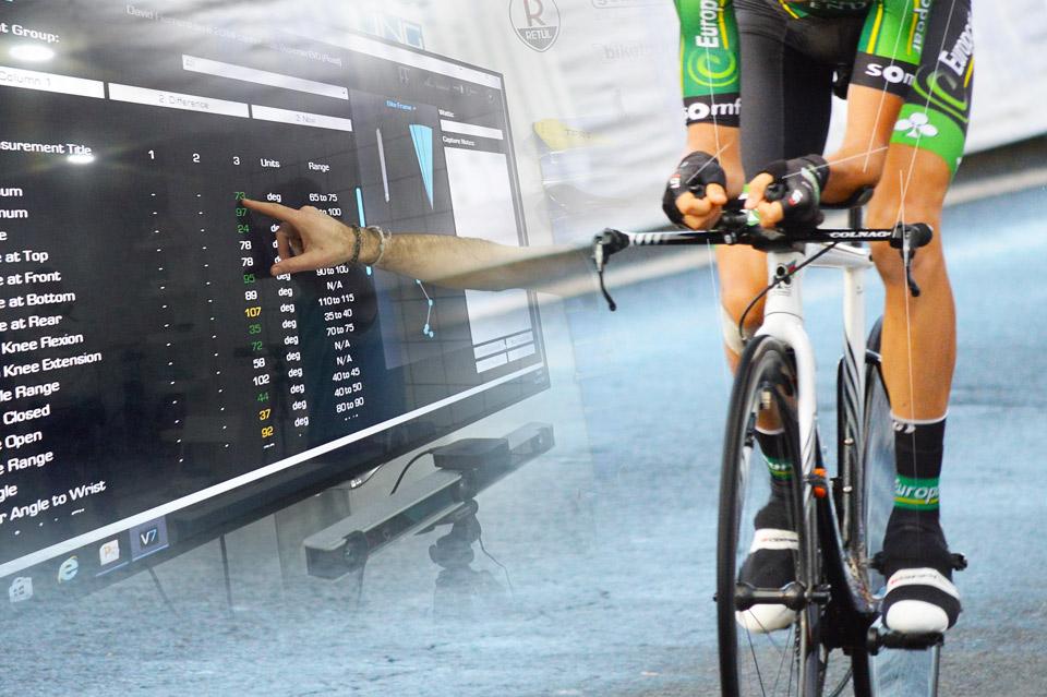 Biomecanica ciclismo Retül Vigo